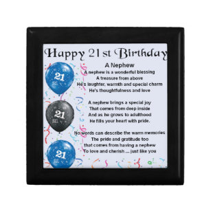 Nephew 21st Birthday Gifts Gift Ideas