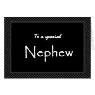NEPHEW Ring Bearer Wedding Invitation