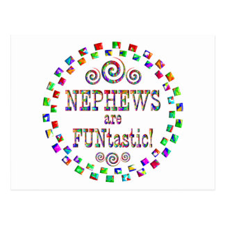 Nephews are FUNtastic Postcard
