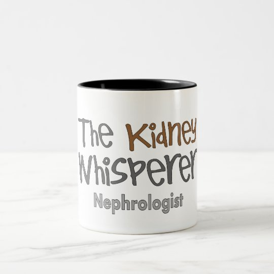 Nephrologist Physician Gifts, Humourous Two-Tone Coffee Mug