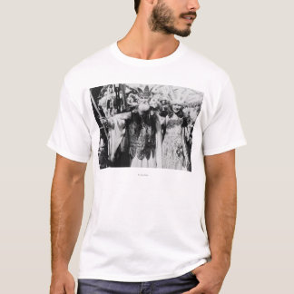 Neptune and Miss America at Carnival Photograph T-Shirt