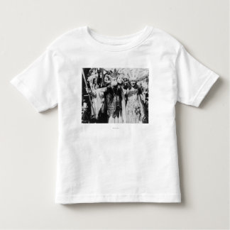 Neptune and Miss America at Carnival Photograph Toddler T-Shirt