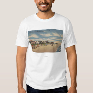 Neptune Beach, FL - View of Ocean Front Homes T Shirts