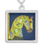 Neptune Carousel Horse Necklace