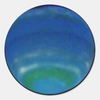 Neptune Classic Round Sticker