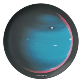 Neptune from Voyager 2 Plate