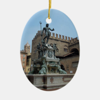 Neptune in Bologna Christmas Ornament