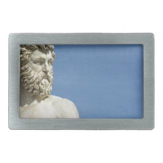Neptune in Florence02 Rectangular Belt Buckles
