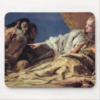 Neptune offering gifts to Venice (ceiling fresco) Mouse Mat
