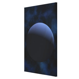 Neptune planet canvas print