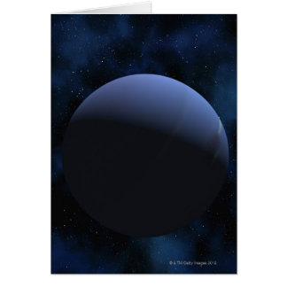 Neptune planet card
