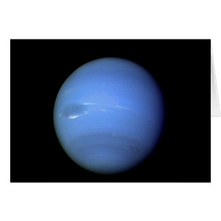 Neptune Planet in our solar system Card