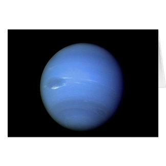 Neptune planet NASA Card