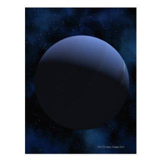 Neptune planet postcard