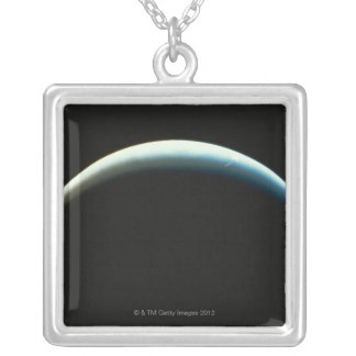 Neptune Silver Plated Necklace