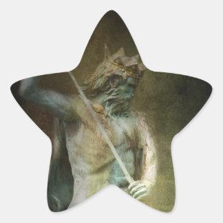 Neptune Star Sticker
