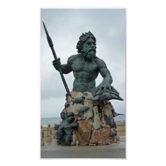 Neptune Statue Virginia Beach Photo Print