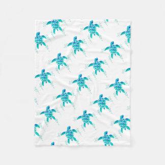 Neptune's Turtle Fleece Blanket