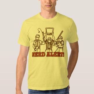 NERD ALERT!!! (weapons) T Shirt
