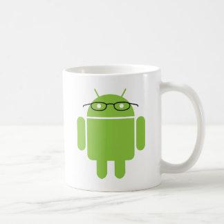 Nerd Android Coffee Mug