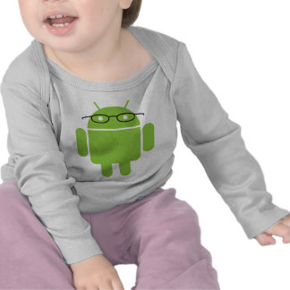 Nerd Android Tee Shirts