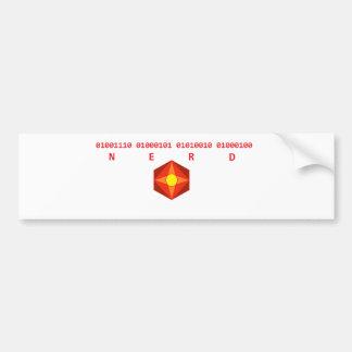 Nerd Binary Bumper Stickers