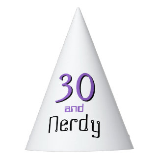 Nerd birthday hat
