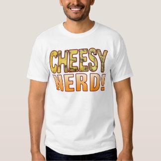 Nerd Blue Cheesy Tee Shirt