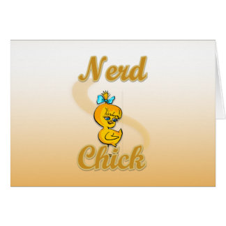 Nerd Chick Greeting Cards