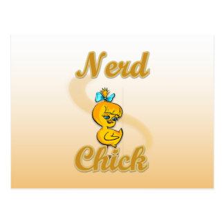 Nerd Chick Post Cards