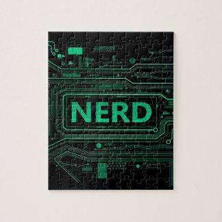 Nerd concept. jigsaw puzzle