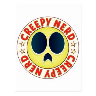 Nerd Creepy Postcard