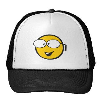 Nerd Emoji Mesh Hat