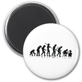 Nerd Evolution Magnet