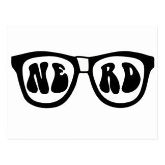 Nerd Glasses Postcard