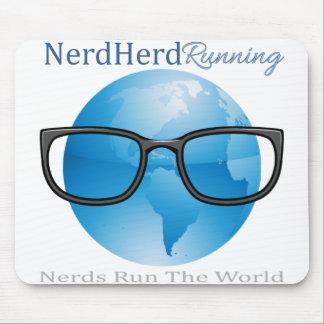 Nerd Herd Running Mousepad