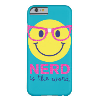 Nerd is the Word iphone Case