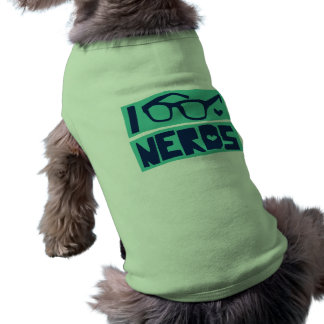 Nerd Love Doggie Tee Shirt