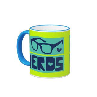 Nerd Love Ringer Mug