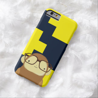 nerd monkey barely there iPhone 6 case
