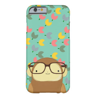 nerd monkey tulips barely there iPhone 6 case