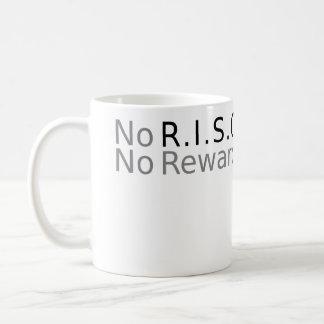 Nerd Mug - No R.I.S.C (Risk) No Reward