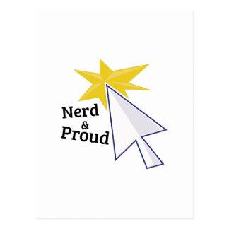Nerd & Proud Post Cards