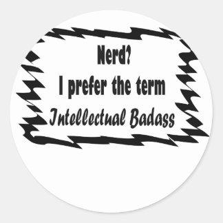 Nerd? Round Sticker