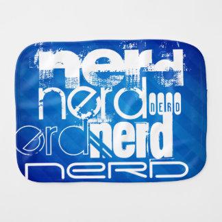 Nerd; Royal Blue Stripes Burp Cloths