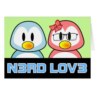 Nerd Valentine: Computer Geek Leet Speak Love Note Card
