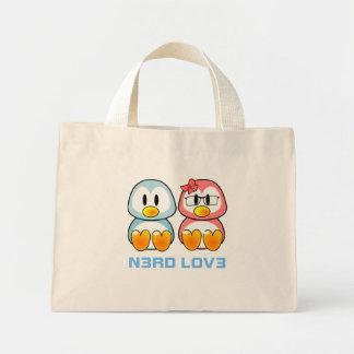 Nerd Valentine: Computer Geek Leet Speak Love Mini Tote Bag