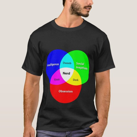 Nerd Venn Diagram T T-Shirt