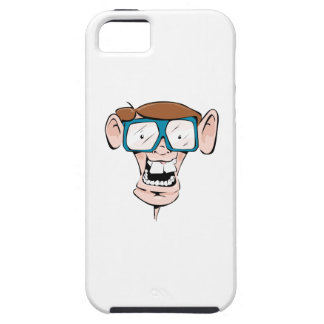 Nerd with Glasses iPhone 5 Case
