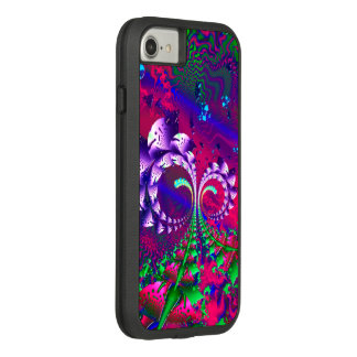 Nerdberries Psychedelic Fractal Case-Mate Tough Extreme iPhone 8/7 Case